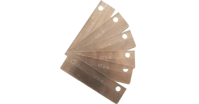 Replacement Blades for the Heavy-Duty& Mini Scrapers